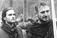 Bloom and Neeson play Crusaders with unlikely - pacifist tendencies.