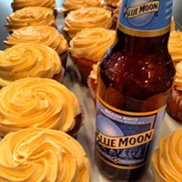 Sensational Summer: 48 of Cleveland's Best Summer Photos Blue Moon Cupcakes from Colossal Cupcakes Photo Courtesy of Instagram