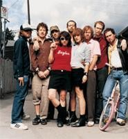 Broken Social Scene has the indie kids hugging 'n' mugging.