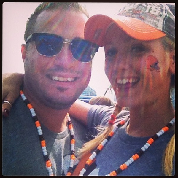 #browns #cleveland #football #game #loveit - PHOTO COURTESY OF INSTAGRAM USER BULL622