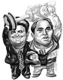 JAY  BEVENOUR - Butch Davis & Carmen Policy: They've freed up your Sunday afternoons until 2011.
