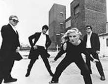 Call them: Blondie, yesterday and today  Chris Stein, Clem Burke, Deborah Harry, and Jimmy Destri (from left).
