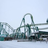 20 Photos of Snowy Ohio Amusement Parks Cedar Point Photo via Cedar Point, Facebook