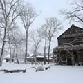 20 Photos of Snowy Ohio Amusement Parks