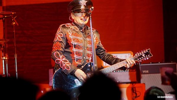 Cheap Trick Performing at Hard Rock Live