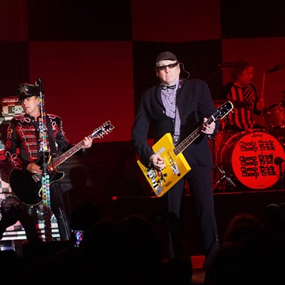 Cheap Trick Performing at Hard Rock Live