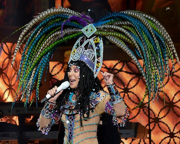 Cher and Cyndi Lauper Performing at Quicken Loans Arena