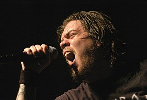 Chimaira frontman Mark Hunter, PD (post-dreadlocks). - WALTER NOVAK