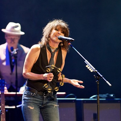 Chrissie Hynde Performing at the Akron Civic