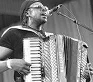 C.J. Chenier, the accordion player with mad zydeco - skills, headlines Saturday's Ragin' Cajun Fest.