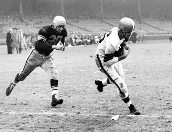 Cleveland Browns vs. Pittsburgh Steelers- 1952
