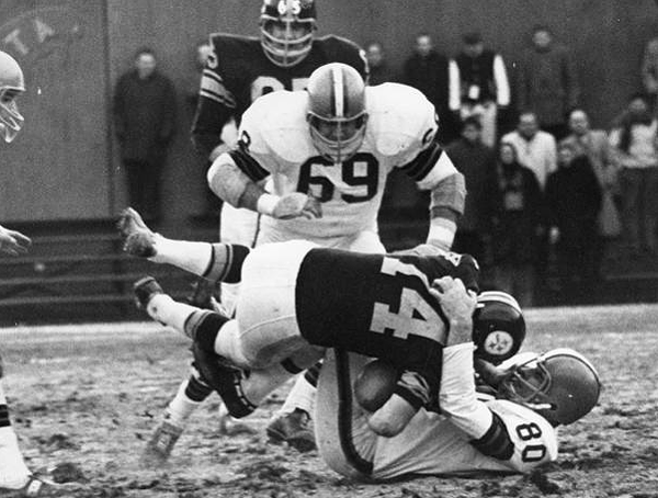 Cleveland Browns vs. Pittsburgh Steelers- 1965