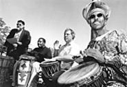 Cleveland improvisational percussion troupe Drumplay - prepares to meet art-rock legends Gongzilla. - WALTER  NOVAK