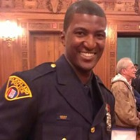 "Pictures For ""A Traffic Ticket and a Bullet Through the Chest"" Cleveland Police Officer Vincent Montague, who shot Greg Love on June 23, 2013 in downtown Cleveland"