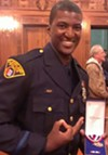 Cleveland Police Officer Vincent Montague, who shot Greg Love on June 23, 2013 in downtown Cleveland