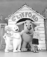 Clifford and his canine pals bark up the right tree at the - Palace Theatre (Friday).