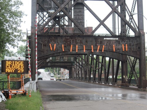 Columbus Road Bridge will close at 7 a.m. Wednesday, May 29.