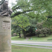 Martin Luther King Jr. Drive ...Complete with the Cleveland Cultural Gardens and Rockefeller Park, MLK is a cherished thoroughfare on the east side of town. Do take in an afternoon walk as park swells with autumnal hues this season. ERIC SANDY/SCENE