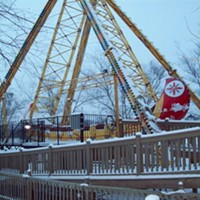 20 Photos of Snowy Ohio Amusement Parks Coney Island Amusement Park Photo via Cedar Point, Facebook