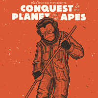 30 Incredible Movie Poster Recreations From Your Favorite Hollywood Hits Conquest of the Planet of the Apes by John Vogl Photo Courtesy of Matthew Chojnacki