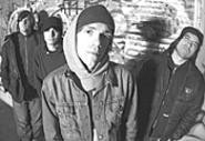 Converge frontman Jake Bannon (center) will be - showcasing his art at Strhessfest.