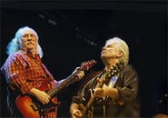 David Crosby and Graham Nash: Still riding those wooden  ships. - WALTER NOVAK