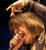 David Johansen, at the New York Dolls' November 17 Beachland show. - WALTER  NOVAK