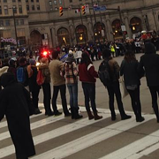 Day of Protests Ends with Questions for Police Chief and Mayor
