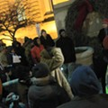 Demands Set Forth by New Abolitionist Association on Steps of City Hall Last Night