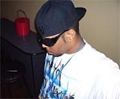DJ B. Ward cues up the rap.