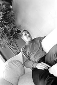 DJ Rob Sherwood, reborn in Amazona. - WALTER  NOVAK