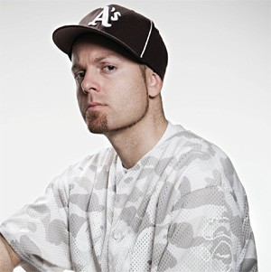 DJ Shadow puts on his game face before his House of Blues show.