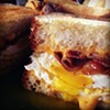 Does it get any better? Two pieces of grilled crunchy bread crammed with fried eggs, tons of American cheese, and an obscene amount of killer bacon. Breakfast in a sandwich. Melt Bar and Grilled is located at 13463 Cedar Rd. Call 216.965.0988 or visit meltbarandgrilled.com for more information.