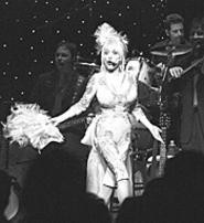 Dolly Parton, wowing the Gund Arena crowd on - October 19. - WALTER  NOVAK