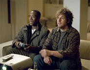 Don Cheadle and Adam Sandler take their minds off their troubles, Xbox-style.