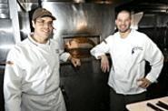 Doug Katz (left) and Scott Popovic make root vegetables sexy. - WALTER  NOVAK