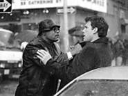 Doyle and Gavin get acquainted on the streets of New - York.