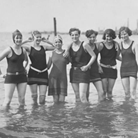 15 Vintage Cleveland Beach Photos Edgewater Beach, 1927.