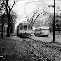 20 Photos of Old Cleveland Streetcars Edgewater, circa 1930-59 Cleveland Memory Project