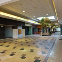 15 Photos of the Abandoned Canton Centre Mall Empty mall corridor; used now as a walkway between Walmart and JCPenney. Photo Courtesy of Nicholas Eckhart