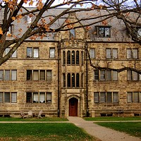 2. Kenyon College- Gambier Enrollment: ~1,650Institution: Liberal ArtsFeatures: 10 - 1 student/faculty ration, chapter of Phi Beta Kappa for strong liberal arts and sciences, campus features a 380-acre nature preserve. Photo Courtesy of Wikimedia Commons