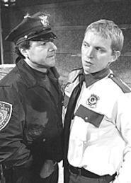 Ethical dilemmas assault a night watchman in - Lobby Hero.