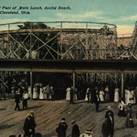 Euclid Beach Park Euclid Beach Park postcards were popular and often sent to relatives not fortunate enough to know the joys of Cleveland.