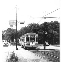 20 Photos of Old Cleveland Streetcars Euclid Heights Boulevard near Derbyshire Road, circa 1948 Cleveland Memory Project