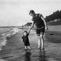 15 Vintage Cleveland Beach Photos Eudlic Beach, 1960s.