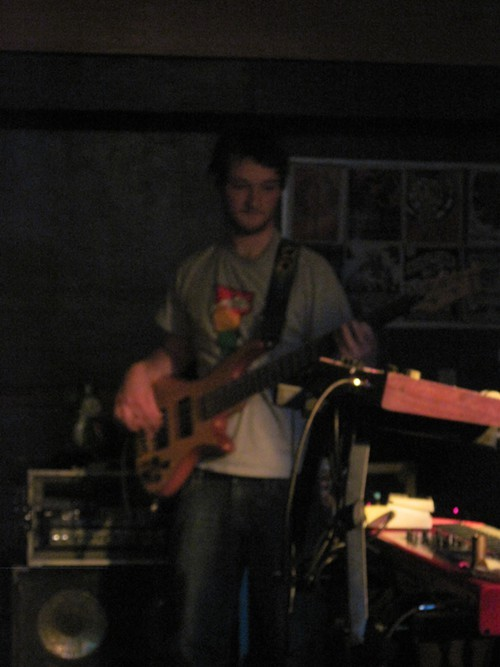 Evan McPhaden on bass