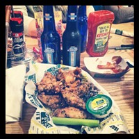 The 10 Ultimate All You Can Eats Near Cleveland Even though it is a regional chain, Quaker Steak & Lube in Valley View has a killer AUCE Tuesday Wing Night. The restaurant sets up a buffet with endless wings, but there is a secret here. If you don't see the sauce you want, just order them from the server and they will deliver it right to your table! Quaker Steak & Lube is located at 5935 Canal Rd  Valley View. Call 216-986-9464 or visit thelube.com for more information. Photo Courtesy of Pickle Bills, Facebook