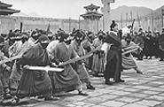 Everybody was kung-fu fighting.
