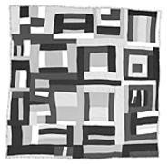 Everyday materials went into The Quilts of Gees - Bend, on view through September 12 at the - Cleveland Museum of Art.