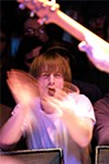 Explosions in the Sky fan shows some love at the Beachland.